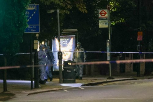 One killed & two hurt in shooting after man knifed to death in capital