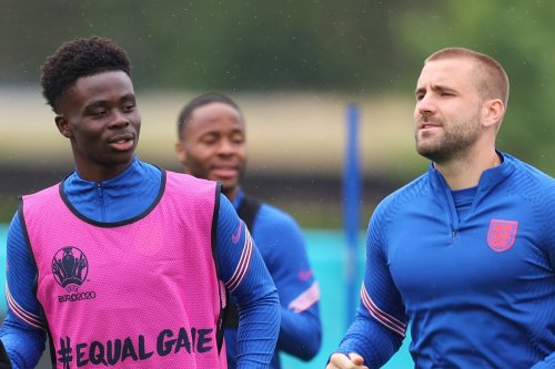 Luke Shaw loves Saka and wants him to be his CHILD after bonding with England