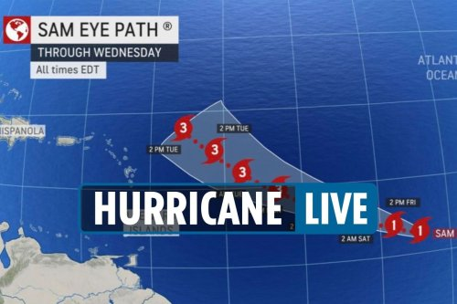 Hurricane becomes Category 4 as trackers say it could go toward East Coast