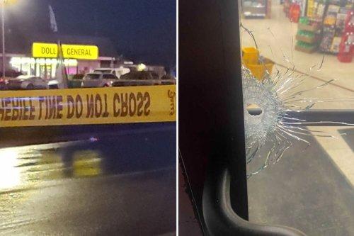 Columbus shooting - 'One person dead and several injured' at Dollar General vigil 'mourning gunshot victim'