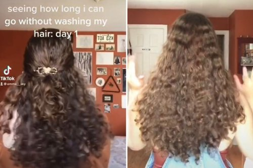 I've gone 100 days without washing my hair with shampoo and people are SHOCKED how it doesn't look greasy