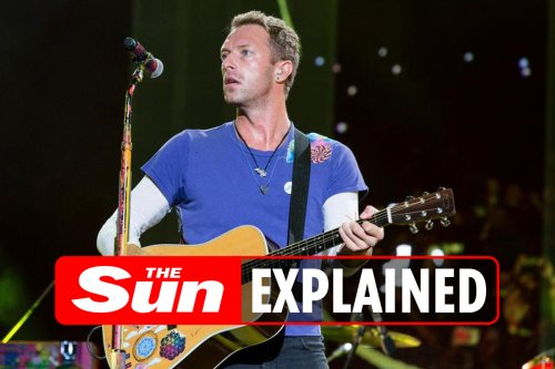 Who is Coldplay's Chris Martin and when was he married to Gwyneth Paltrow?