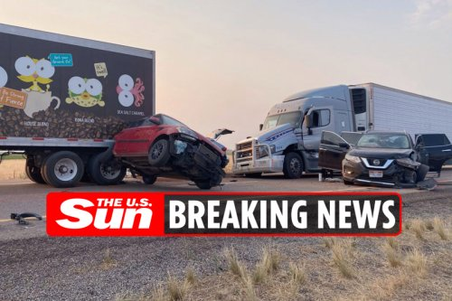 'Six killed and several hurt' as sandstorm triggers 20-vehicle pile-up