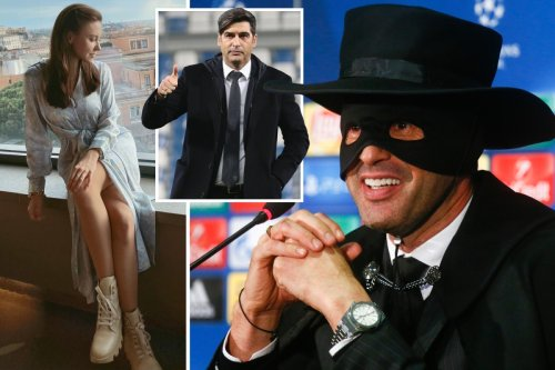 Fonseca loved Zorro as a kid and is married to woman 18-years younger than him