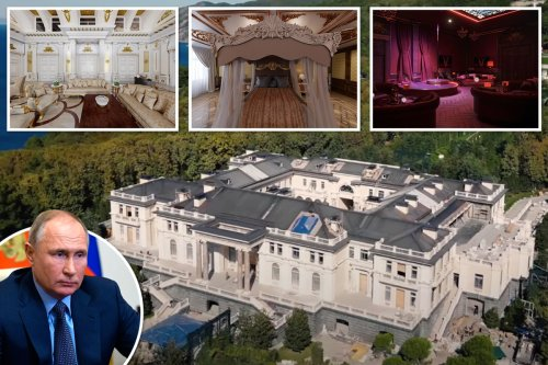 Putin's 'secret £1bn palace' with lap-dancing den, casino & private beach