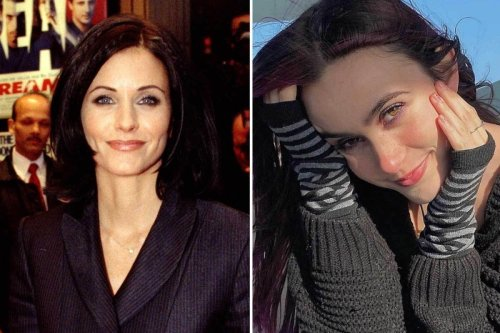 Courteney Cox and David Arquette's daughter Coco,17, looks just like famous mom