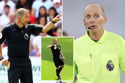 Watch ref Kevin Friend give CROWD yellow card for calling him 's*** Mike Dean'
