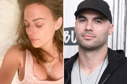 Jana Kramer shows off boob job after filing for divorce from 'cheating' Mike