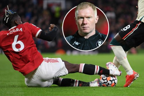 Scholes says Pogba should NEVER play for Man Utd again after Liverpool red card