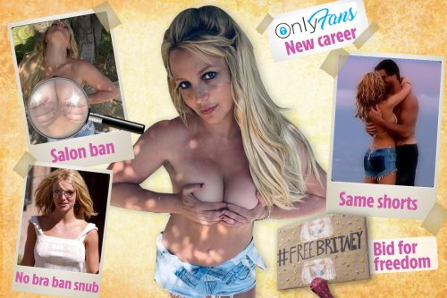 Britney Spears's topless Instagram pictures have hidden messages, says fans