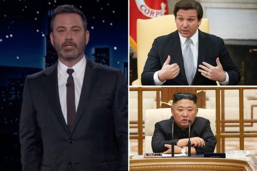 Outrage as Jimmy Kimmel calls Florida 'America's North Korea'