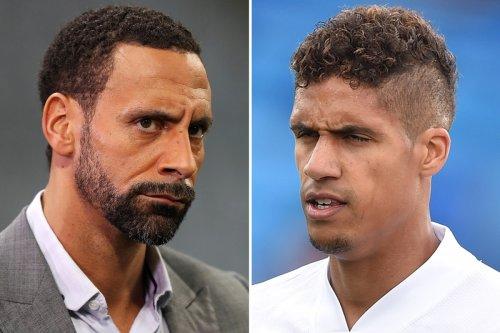 Man Utd icon Rio Ferdinand thinks Raphael Varane forced Madrid exit
