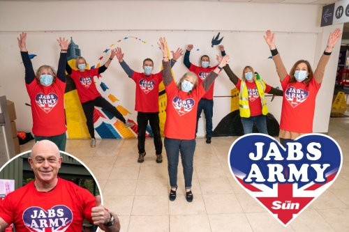 Jabs Army wins top award after playing 'vital role' in ending Covid crisis
