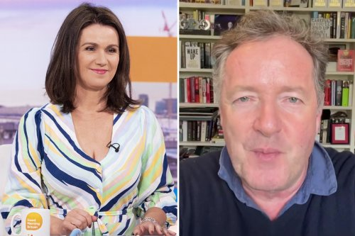 Susanna Reid takes swipe at Piers Morgan after he revealed Covid battle as he becomes embroiled in furious Twitter row