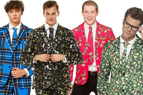Best men's Christmas suits 2020: from tartan to novelty tuxedos