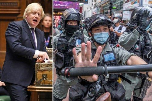 Boris Johnson warns China its brutal crackdown in Hong Kong risks Huawei 5G deal