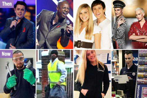 X Factor stars who went back to normal jobs - from carpet fitters to binmen