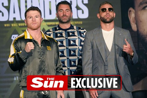 Canelo and Billy Joe Saunders on course to becoming DAZN's most-watched fight
