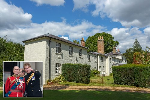 Harry will 'stay at Frogmore Cottage' when he returns to the UK without Meg