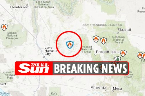 Two firefighters die in airplane crash while battling Arizona wildfires