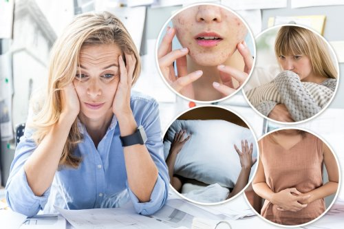 From low libido to trouble sleeping - the seven signs that stress is getting to you