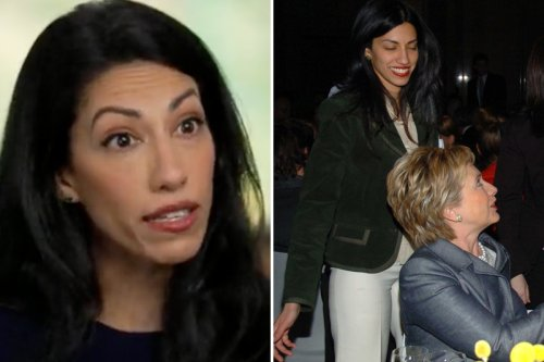 Huma Abedin says she doesn't think US senator kissing her was a sex assault