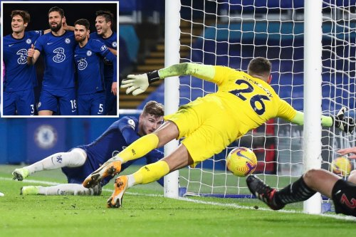 Timo Werner finally ends goal drought as Blues move into top four