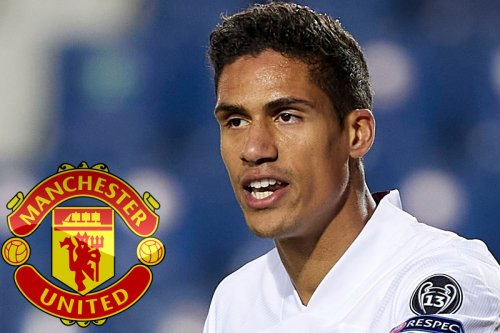 Man Utd given boost in Varane hunt as Real Madrid forced to slash wages by £150m