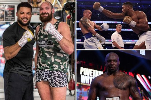 Fury snubs Joshua, Usyk and Whyte and thinks Joyce is 'the best one out there'