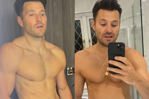 Mark Wright reveals belly and 'reverse body transformation' after 10 day holiday