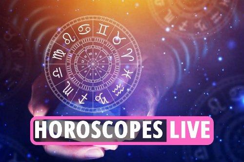 Live star sign updates for Aries, Taurus, Gemini, Virgo, Cancer, Scorpio & more