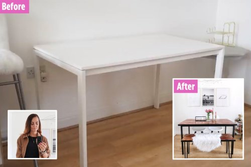 Woman transforms plain house post-divorce with items from Facebook Marketplace