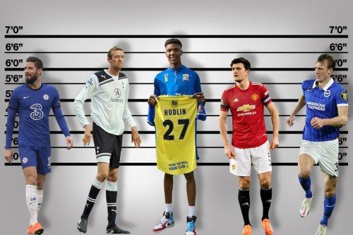 Britain's tallest footballer Hudlin is 6ft 9in, idolises Ronaldo and has Prem aim