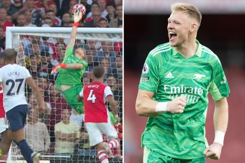 Watch Ramsdale's stunning save vs Tottenham as fans hail it 'best of the season'