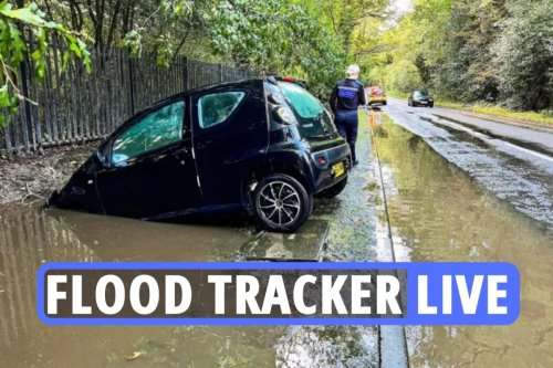 Live UK flood tracker as 5 days of life-threatening storms start at 3pm TODAY