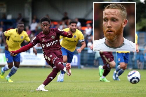 Leeds star Adam Forshaw makes first appearance in nearly TWO YEARS