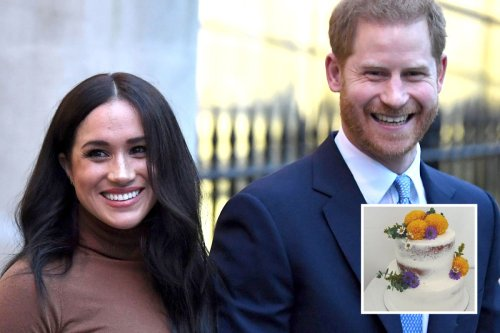 Meghan's 40th birthday cake 'ordered by Harry' from bespoke bakery