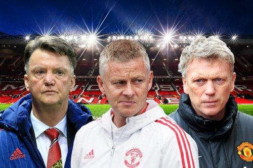 Solskjaer equals run that saw Moyes SACKED as ex-Man Utd manager piles pressure
