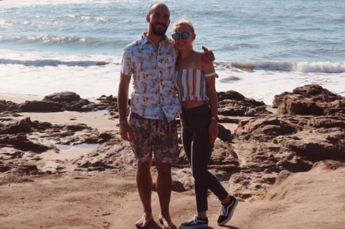 Gabby Petito shared tragic pic of California trip with Brian Laundrie and said 'can't wait to travel the world with you'
