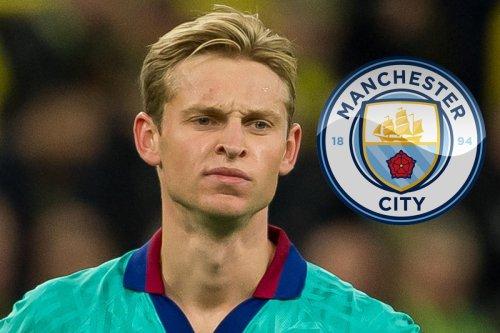Man City and Bayern Munich in transfer fight for Barcelona star Frenkie De Jong