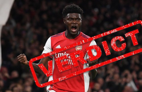 Verdict: Partey missed his audition in front of Vieira but dominated Villa