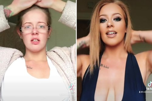 Woman shows off her very impressive glow up & people are saying it's 'witchcraft'