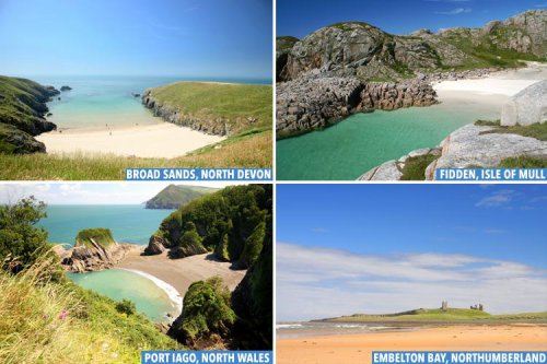 Secret British beaches that'll be crowd-free this heatwave & how to get there