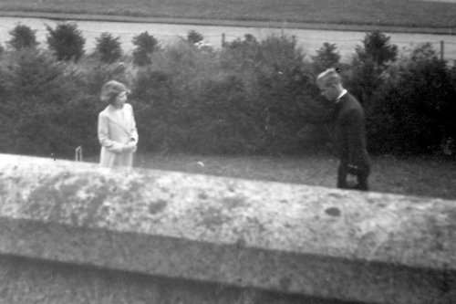 The moment the Queen catches first glimpse of dashing Philip at the age of 13
