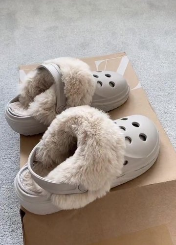 Zara have released fur crocs and fashion fans are obsessed but everyone is saying the same thing
