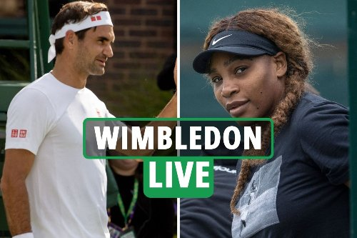 Wimbledon 2021 LIVE RESULTS: Serena Williams and Roger Federer in action on Day 2 - stream, latest updates