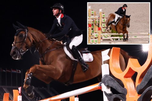 Ben Maher wins Olympic GOLD medal for Team GB in individual jumping