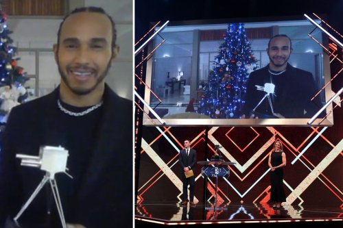 Lewis Hamilton wins SPOTY 2020 after passing Schumacher for most wins ever