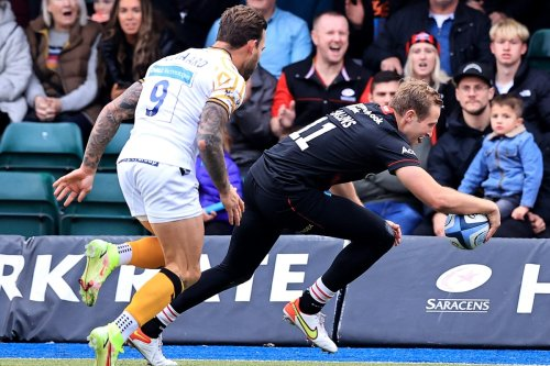 Try mad Max Malins to BIN lucky tights after four-score heroics for Saracens