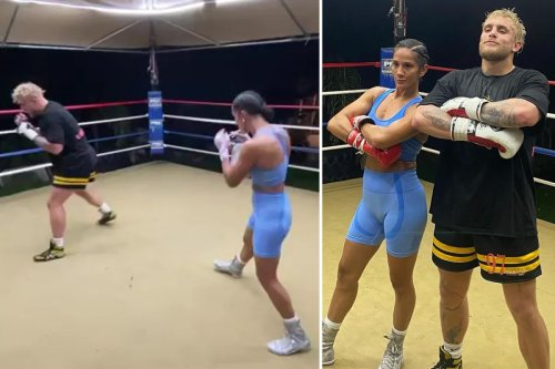 Watch Jake Paul hailed by Amanda Serrano for 'flying great sparring partners in'